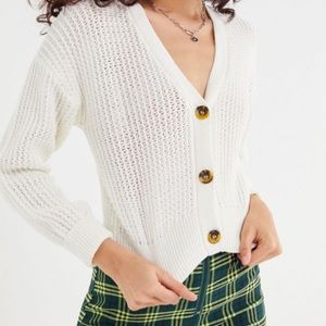 Urban Outfitters Sweaters - UO Cropped Cardigan